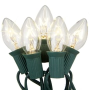 Kringle Traditions C7 Twinkle Light; Clear
