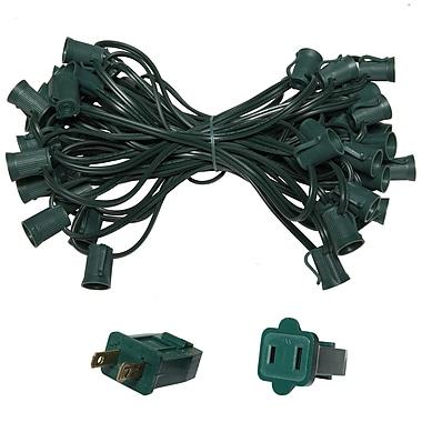 Wintergreen Lighting E17 Intermediate Light Stringer 5 Amp 12'' Lead