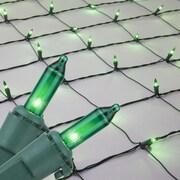 Kringle Traditions Mini Net Light; Green