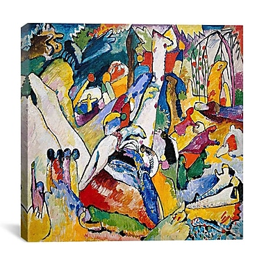 iCanvas ''Sketch for Composition'' by Wassily Kandinsky Painting Print on Wrapped Canvas