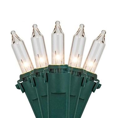 Wintergreen Lighting 150 Mini Lights 24'' Lead; Clear