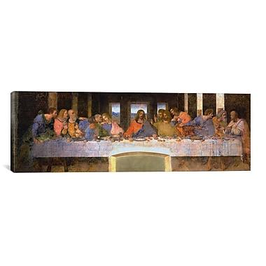 iCanvas 'The Last Supper' by Leonardo Da Vinci Painting Print on Canvas; 20'' H x 60'' W x 1.5'' D
