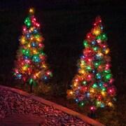 Kringle Traditions Winchester Fir Prelit 3' Walkway Tree; Multi