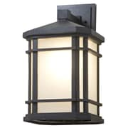 DVI Cardiff 1-Light Outdoor Wall Sconce; 15.5'' H x 10'' W x 8.5'' D