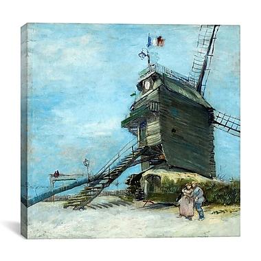 iCanvas ''Le Moulin de la Galette'' by Vincent Van Gogh Painting Print on Canvas
