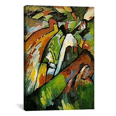 iCanvas 'Improvisation 7' by Wassily Kandinsky Painting Print on Canvas; 12'' H x 8'' W x 0.75'' D