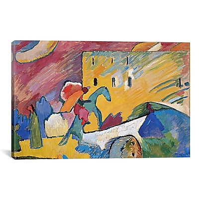 iCanvas 'Improvisation 3' by Wassily Kandinsky Painting Print on Canvas; 18'' H x 26'' W x 0.75'' D