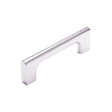 Rk International CP Series 3.78'' Center Bar Pull; Polished Nickel