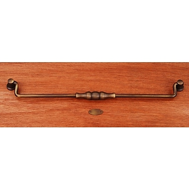 Rk International CP Series 12'' Center Drop Pull; Antique English