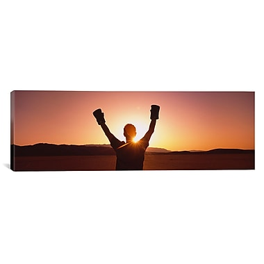 iCanvas Panoramic Black Rock Desert, Nevada Photographic Print on Wrapped Canvas