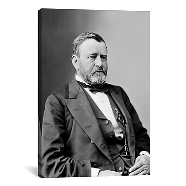 iCanvas Political Ulysses S. Grant Portrait Photographic Print on Wrapped Canvas