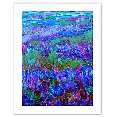 ArtWall StaticeFying' by Susi Franco Painting Print on Rolled Canvas; 32'' H x 24'' W