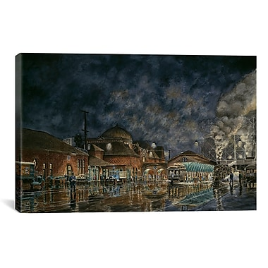 iCanvas ''The Le Grande Station'' by Stanton Manolakas Painting Print on Wrapped Canvas
