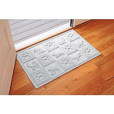 Bungalow Flooring Aqua Shield Cat in the Doormat; White