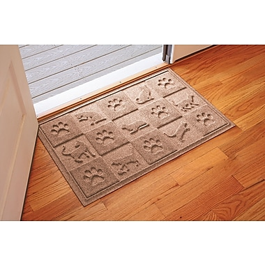 Bungalow Flooring Aqua Shield Cat in the Doormat; Medium Brown