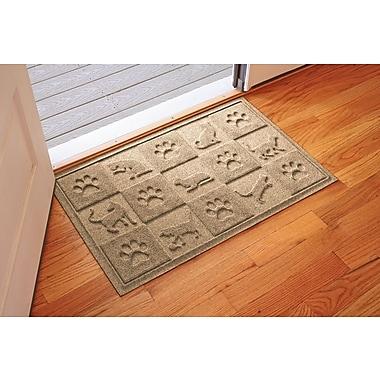 Bungalow Flooring Aqua Shield Cat in the Doormat; Camel