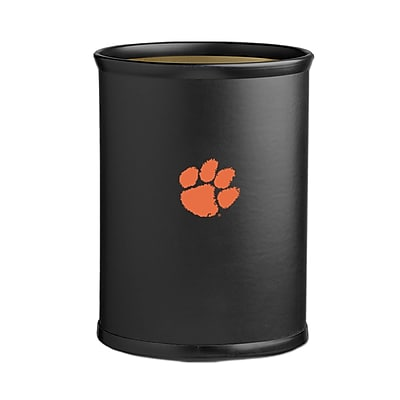 Kraftware Collegiate 3.25 Gallon Waste Basket; Clemson