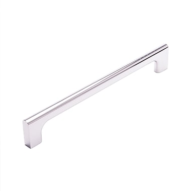Rk International CP Series 8'' Center Appliance Pull; Polished Nickel