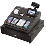 Sharp XE A407 Cash Register, 7000 LookUps, 99 Dept, 40 Clerk by