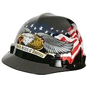 MSA Safety Freedom Series Polyethylene Helmets, Fas-Trac Ratchet (10079479)
