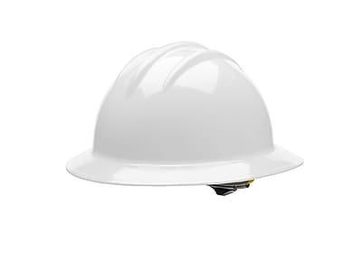BULLARD Plastic Full Brim Hard Hat
