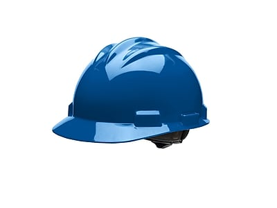 BULLARD Plastic Hard Hats with Ratchet Suspension Standard