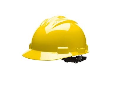 BULLARD Polyethylene & Plastic Hard Hat Pinlock Suspension Standard