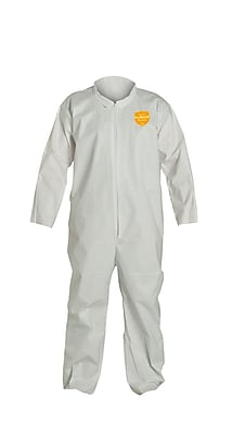 DUPONT Polyethylene Disposable Coveralls, 3XL, 25/Carton