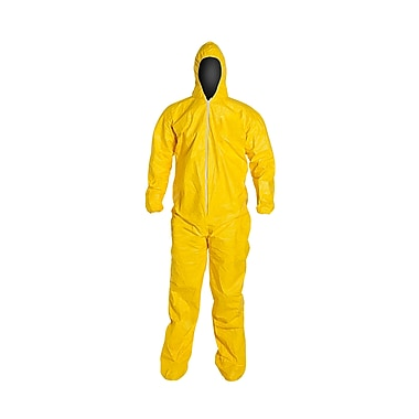 DUPONT Tyvek Chemical Protection Coveralls, 4XL