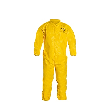 DUPONT Tychem Disposable Coveralls, 5XL