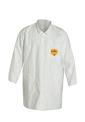 DUPONT Tyvek Reusable General Purpose & Work Lab Coat, 2XL