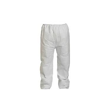 DUPONT Polyethylene Fiber Tyvek Pant , XL