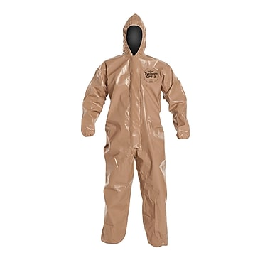 DUPONT Tychem Fabric Zipper Front Coverall XL