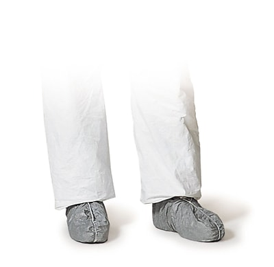 Dupont® Shoe & Boot Covers, Tyvek, Low Elastic Top, 200/Carton