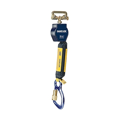 CAPITAL SAFETY GROUP USA Polyester & Aluminum Nano Lok Self Retracting Lifeline 6'