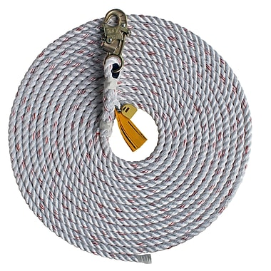 CAPITAL SAFETY GROUP USA Polyester & Polypropylene Vertical Rope Lifeline Universal