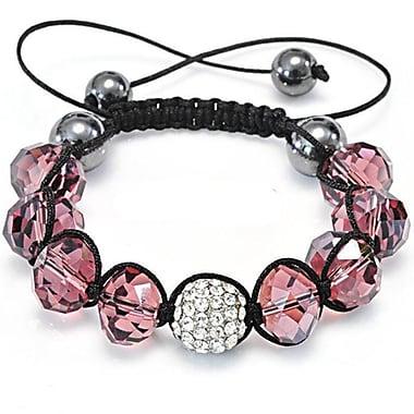Best Desu Shambala-Style Crystal Bracelet, Light Smoked Topaz
