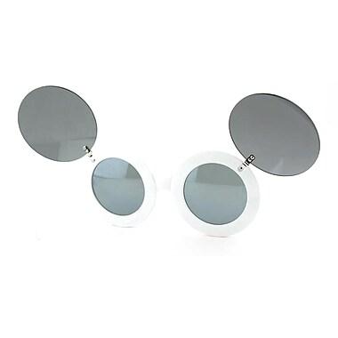 Best Desu – Lunettes de soleil Mickey Mouse, blanc