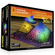 The Laser Pegs® 30-in-1 National Geographic, Landmarks Building Kit