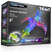 The Laser Pegs® 16-in-1 Space Fighter Building Kit