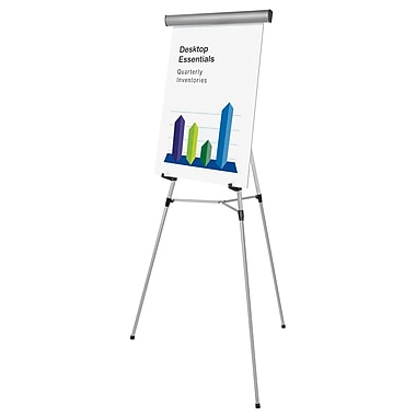 MasterVision 3-Leg Lightweight Telescoping Display Easel, 34