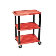 H. Wilson Commercial Utility Cart; Red