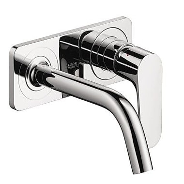 Axor Axor Citterio M Single Handle Wall Mounted Tub Only Faucet Trim; Chrome