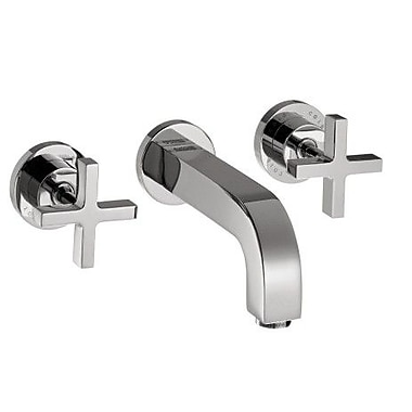 Axor Axor Citterio Two Handle Wall Mounted Tub Faucet; Chrome