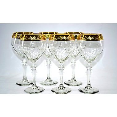Three Star Wine Glass (Set of 6)