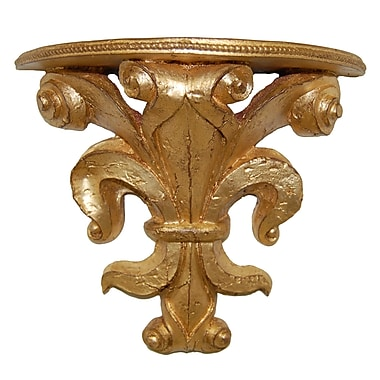 Hickory Manor House Provence Bracket; Gold Leaf