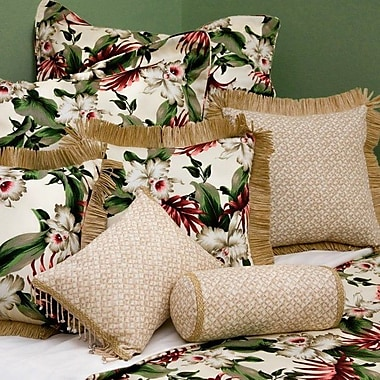 Hanalei Orchids Duvet Cover; King