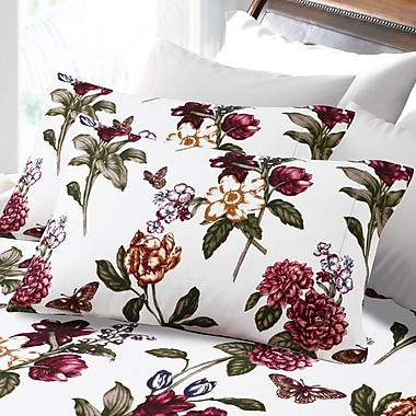 Tribeca Living Flannel Sheet Set; Twin