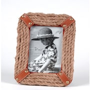 Wilco Home Rope Picture Frame; 13.75'' H x 7.75'' W x 1'' D