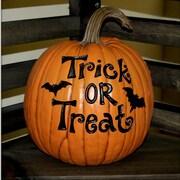 Craft-Tex Trick or Treat Pumpkin